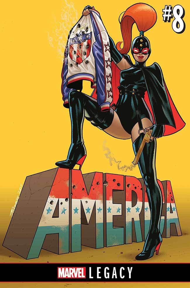 America Basically Just Continues What She Was Already Doing For Marvel Legacy From Rivera And Quinones