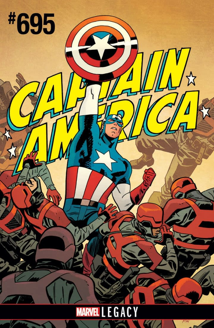 Waid And Samnee Aim To Make Captain America Great Again For Marvel Legacy