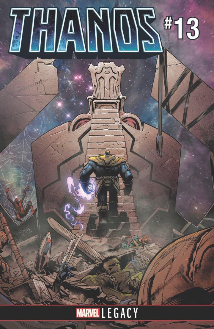 New Marvel Hire Donny Cates Says Writing Thanos Comic Gave Him Nightmares