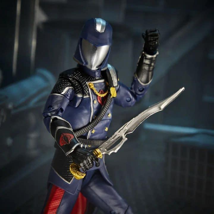 GI Joe Classified Cobra Commander Revealed, For Sale On NTWRK Today