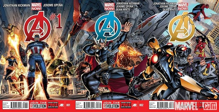 So Who Is In The New Avengers Comic Anyway?