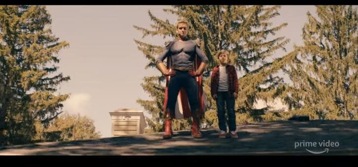 """The Boys"" Season 2 Teaser: Homelander's ""Daddy Dearest"", A Train's Derailed, Butcher's Terror & More"