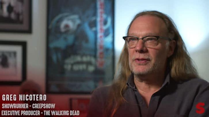'Creepshow': EP/Director Greg Nicotero Talks Original Film, George A. Romero and More [VIDEO]