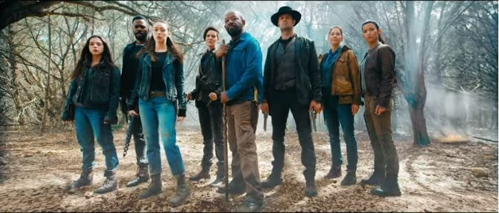 'Fear the Walking Dead' Season 5 Key Art Highlights Hope, Action… and Air Travel?