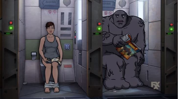 "'Archer: 1999"": AI Malory? Robo-Krieger? Rock Monster Pam? Meet This Season's Crew [VIDEO]"