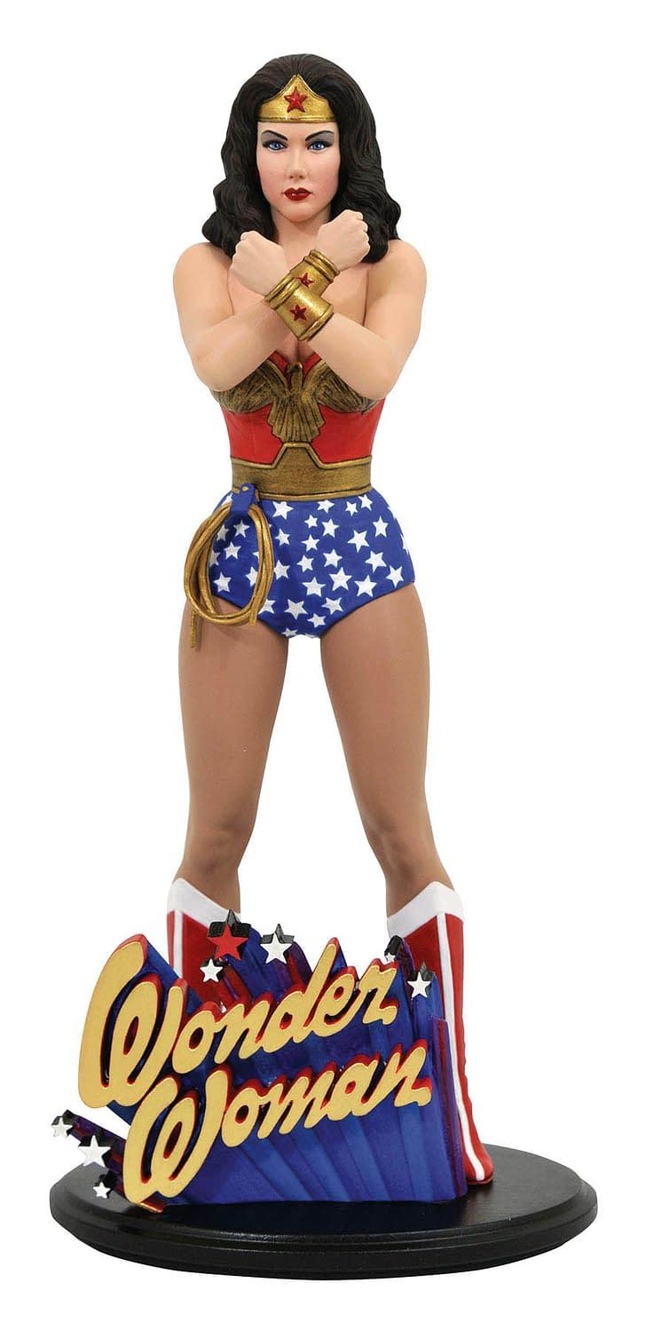 Wonder Woman TV Series Returns with New Diamond Select Statue
