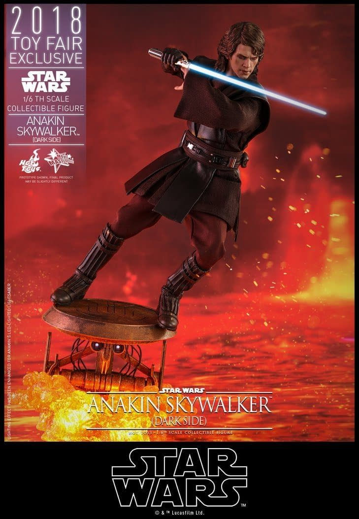 Hot Toys SDCC Exclusive Anakin Skywalker 6
