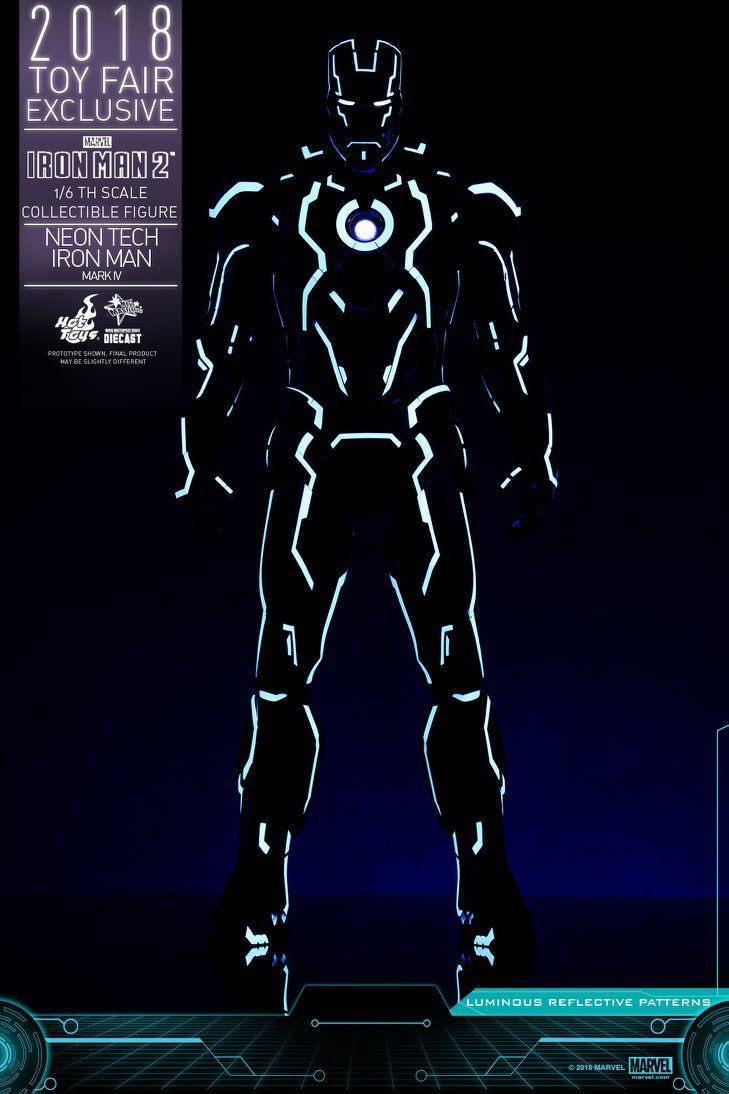 Hot Toys Neon Armor Tech Iron Man 1
