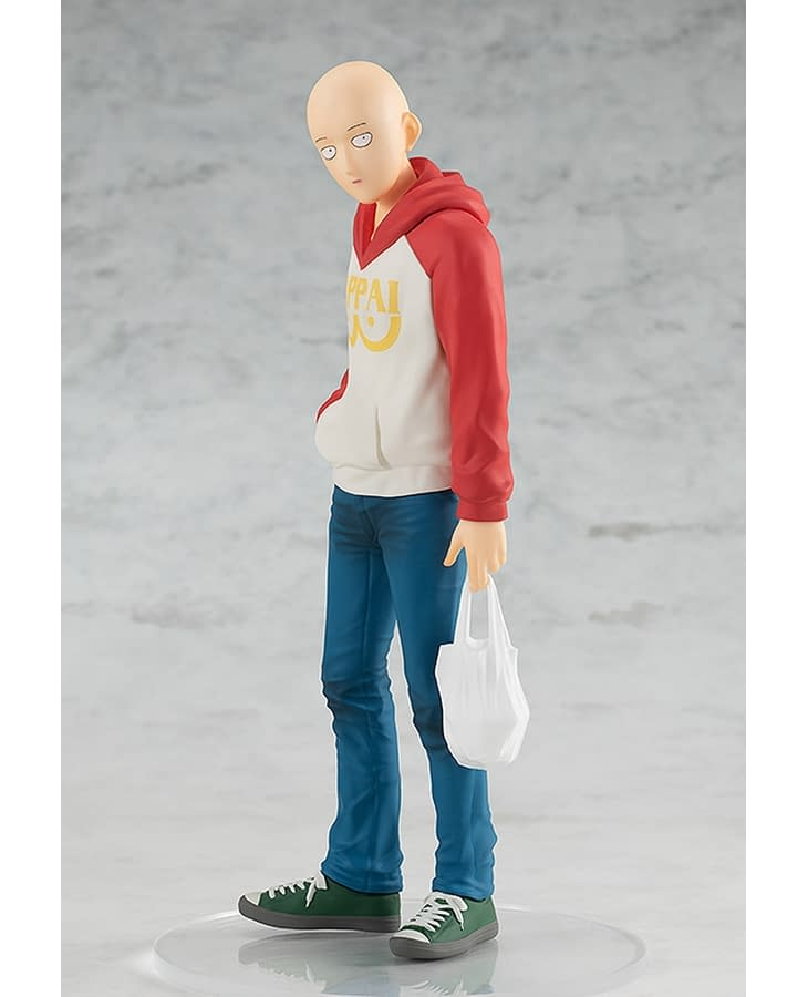 """One Punch Man"" Takes it Easy with New Good Smile Company Statue"