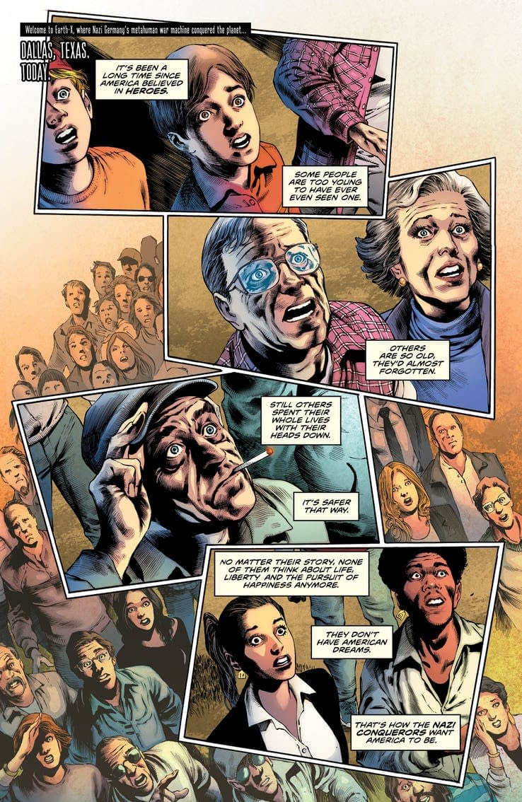 This Week's Freedom Fighters #2 Reveals How Nazis Rule America