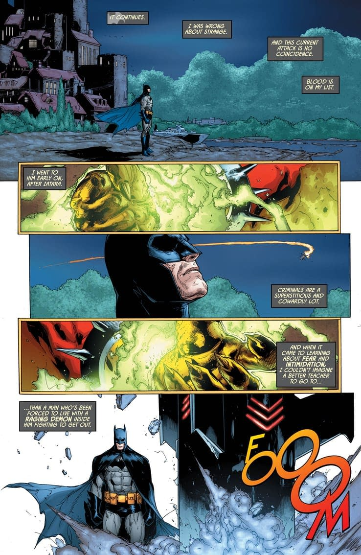 The Return of the Hellbat in Tomorrow's Detective Comics #998 (Preview)