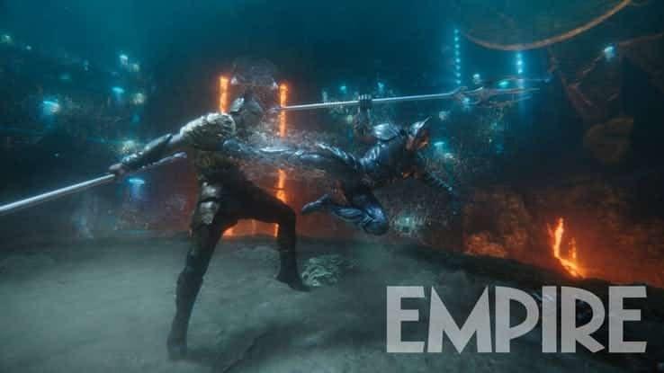 Aquatic Armor in New 'Aquaman' Images- King Orm Fights AC