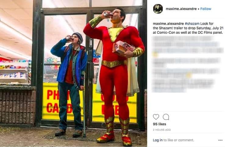 Shazam!: David S. Sandberg Talks the Costume, and We'll See a Trailer at SDCC