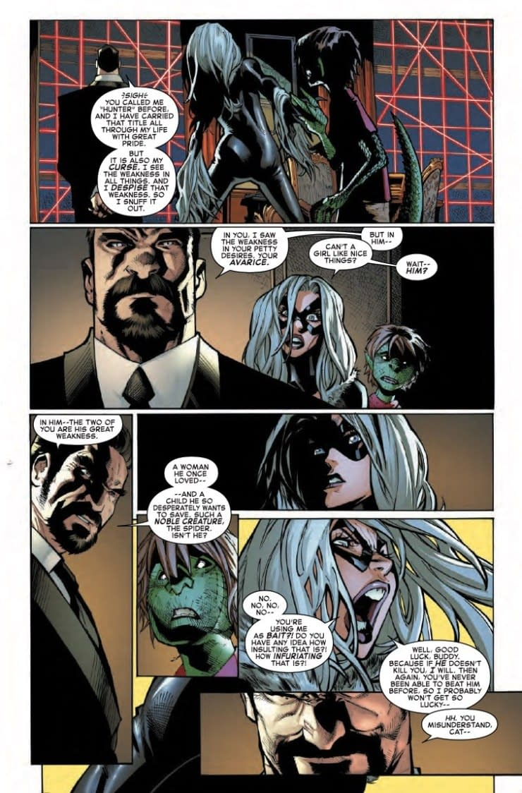Black Cat Objects to Shoddy Female Representation in Amazing Spider-Man #17