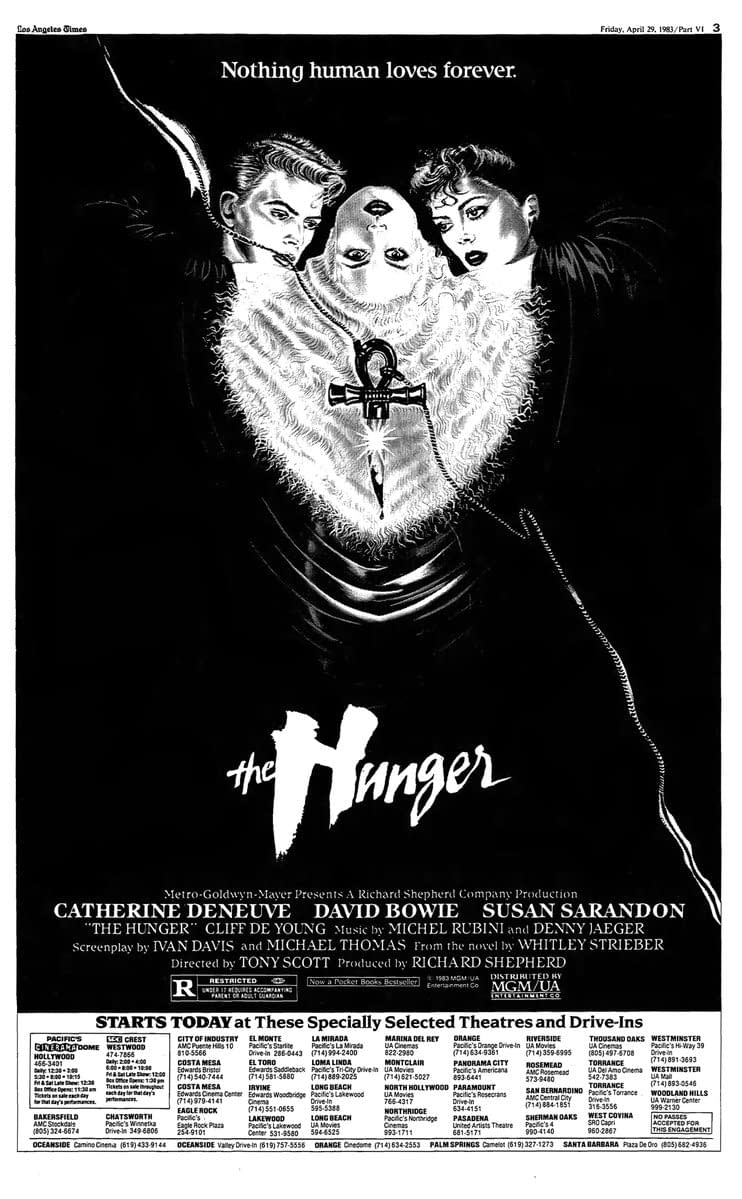 """""""The Hunger"""": A Feast for the Eyes, Not Much for the Brain (Neon Cinema)"""