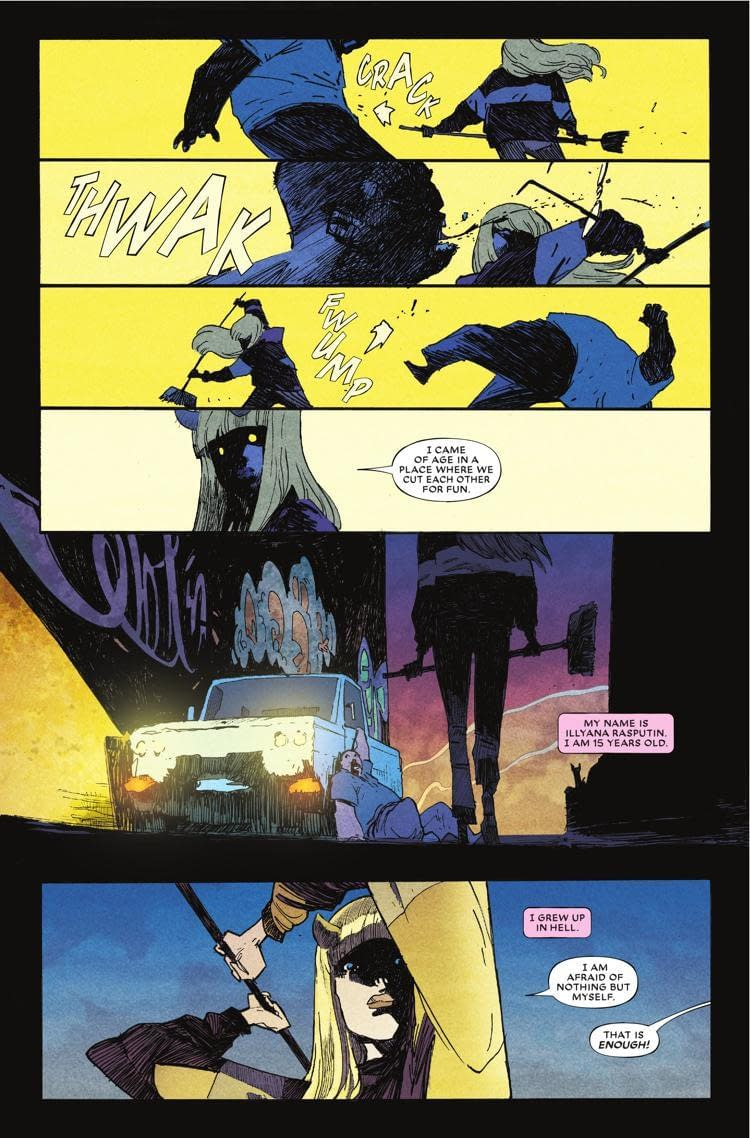 Illyana Fights Rape Culture and the Patriarchy in Just the First 6 Pages of Next Week's What If? Magik