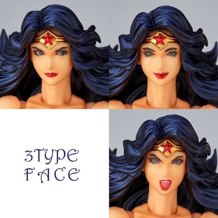 Wonder Woman Gets Amazing with New Revoltech from Kaiyodo