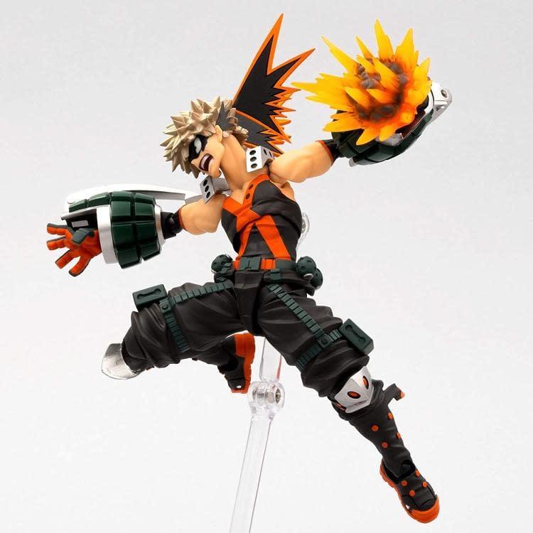 My Hero Academia Katsuki Bakugo Gets New Explosive Revoltech Figure