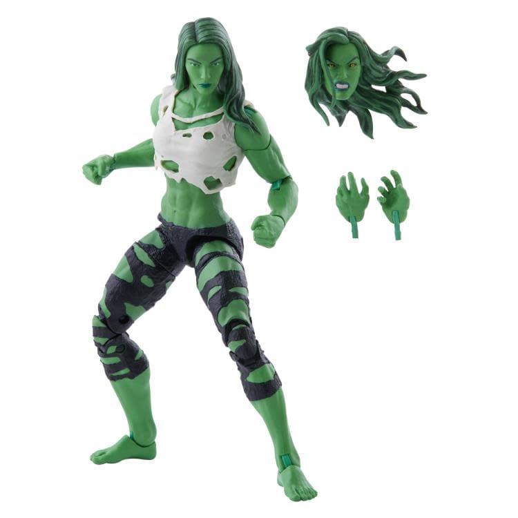 Marvel Legends Green She-Hulk Figure Revealed