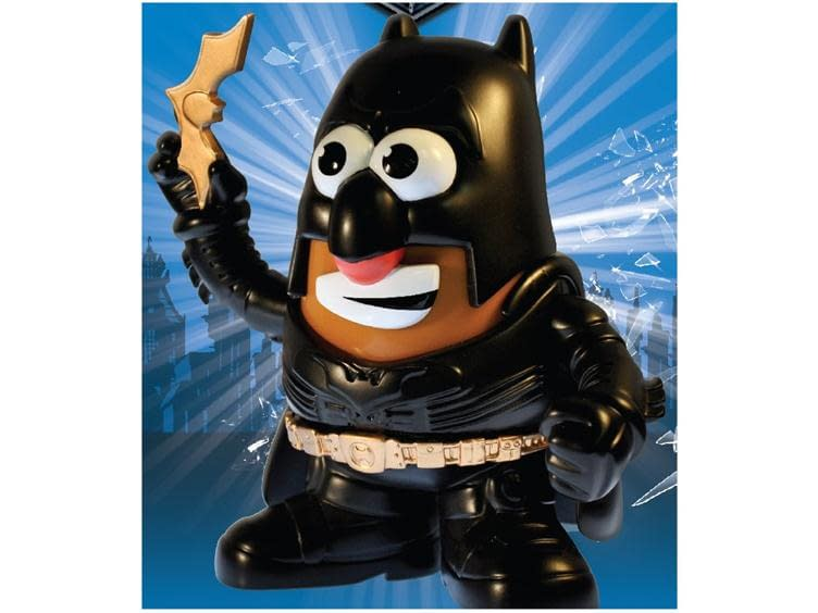Batman Mr Potato Head, Official Toy Tie-In For The Dark Knight Rises, Now Available