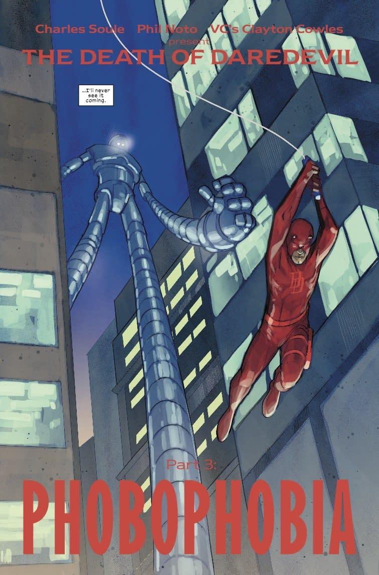 Daredevil's Greatest Villain Returns in Next Week's Daredevil #611