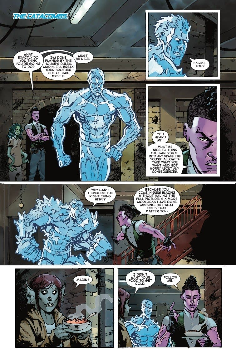 Somebody Needs a Snickers in Next Week's Iceman #4