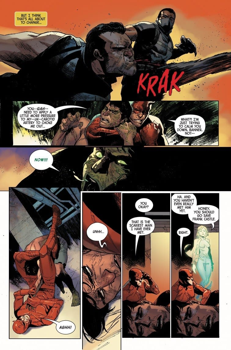 Choking Out Continuity in Next Week's Marvel Knights Finale