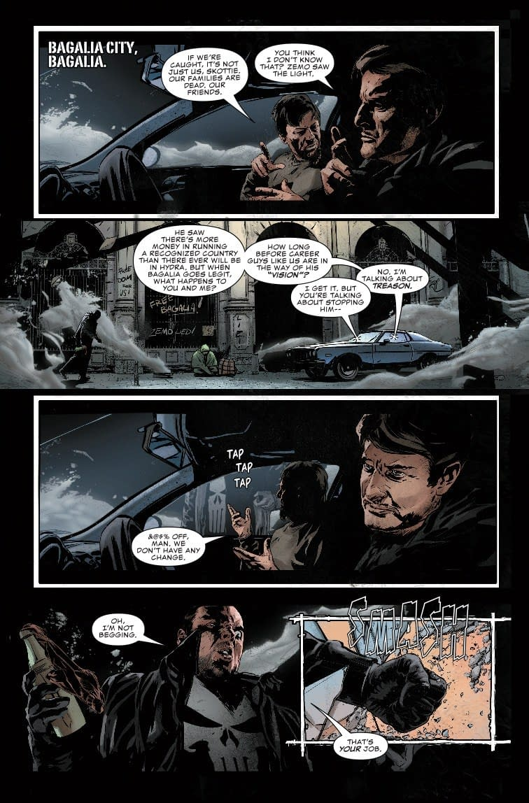 Next Week's Punisher #7 Exposes the Size of Frank Castle's Penis (Spoilers)