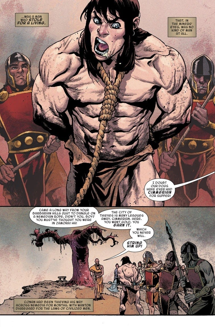 You Don't Want to Know What's in Nemedian Dogfood – Next Week's Conan the Barbarian #3