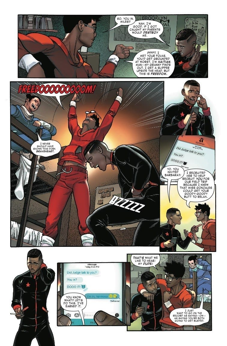Miles Forgets About Great Responsibility in Next Week's Miles Morales: Spider-Man #4