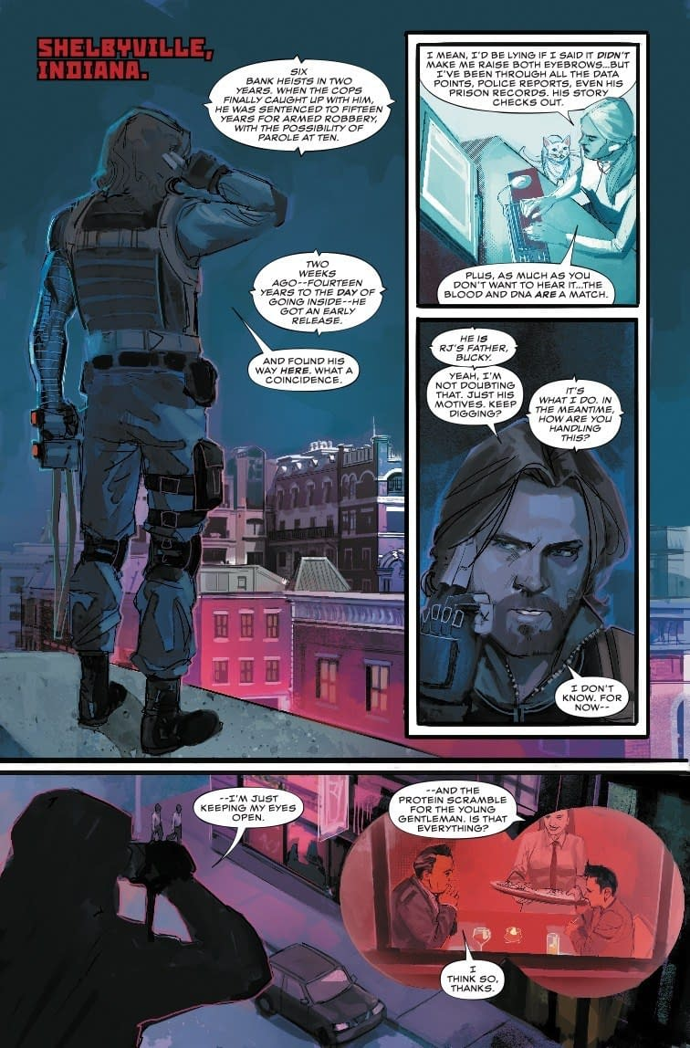 Comics' First Functional Father/Son Relationship in Winter Soldier #4