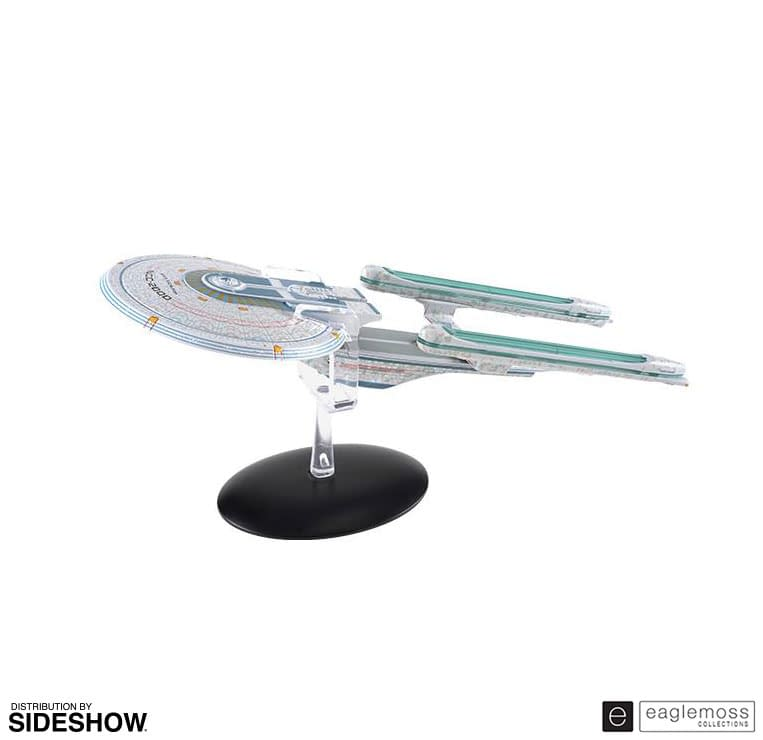 """""""Star Trek"""" United Space Ships Come to Life with Eaglemoss"""