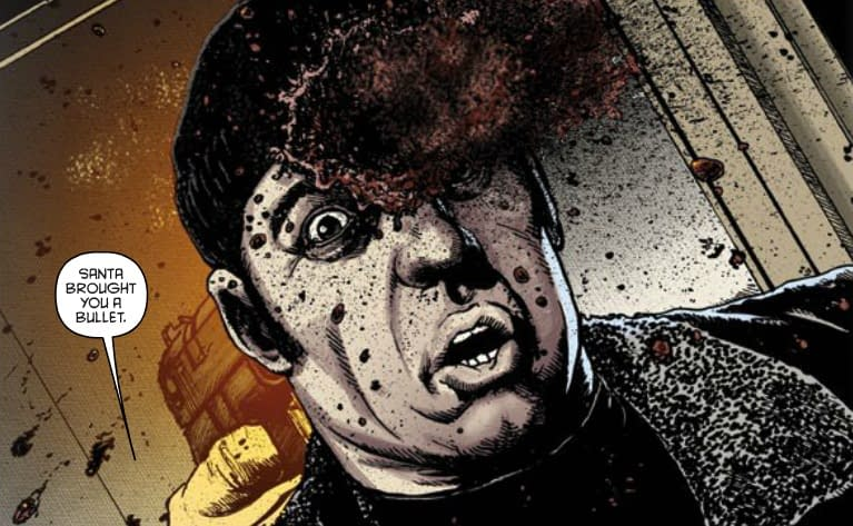 Review: Happy #1 by Grant Morrison And Darick Robertson