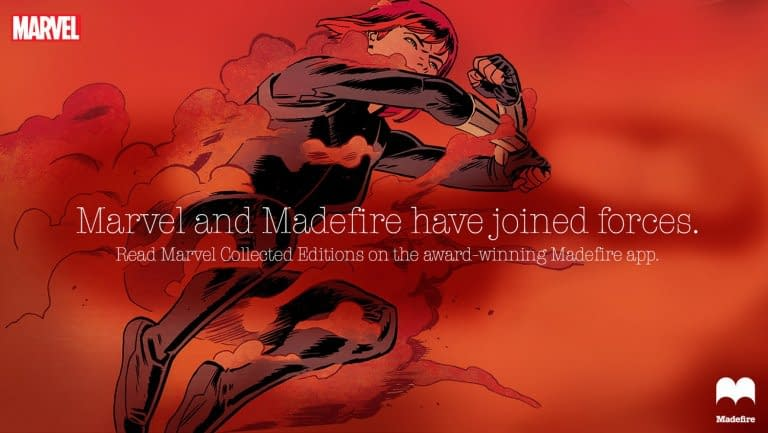 Marvel And Madefire Sitting In A Tree, K-I-S-S-I-N-G…