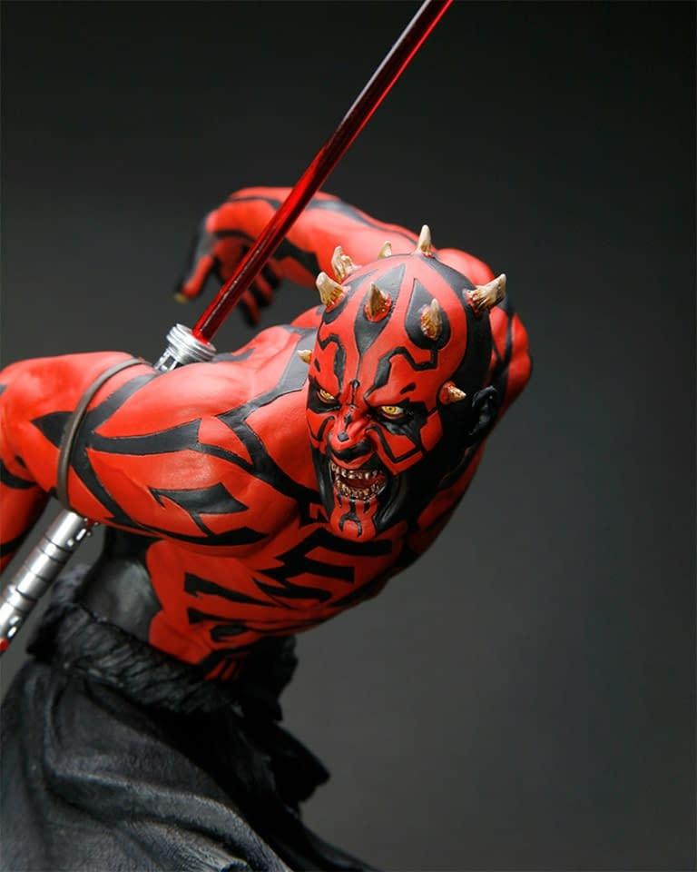 Darth Maul Statue Re-Releasing Coming Soon from Kotobukiya