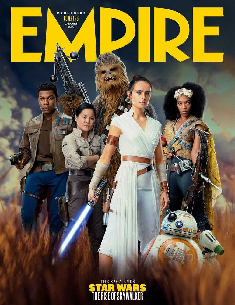 New Empire Covers Show Off The Entire Star Wars The Rise Of Skywalker Cast