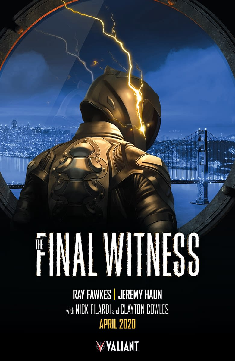 Identity Crisis Solved as Valiant Names Creative Team for Final Witness