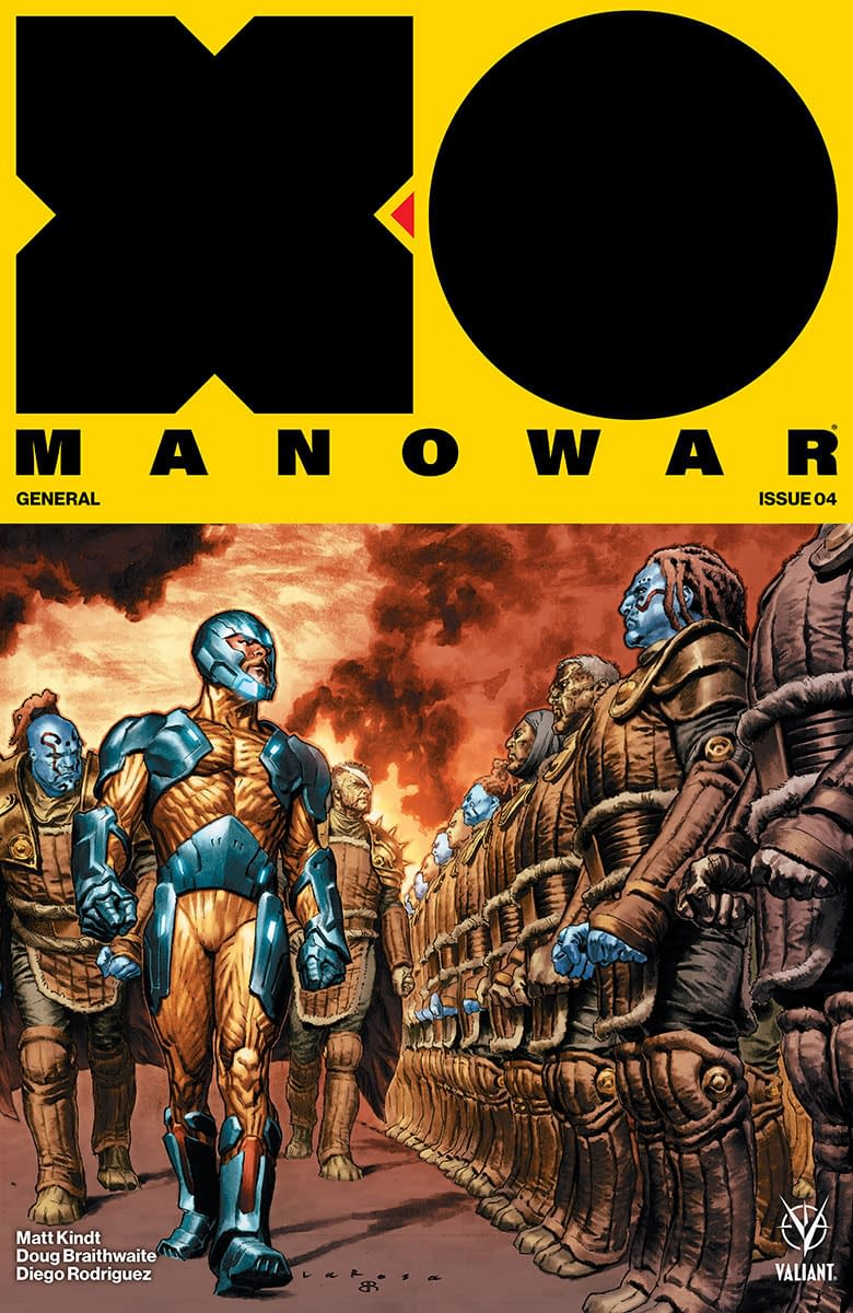 Preview Secret Weapons #1, X-O Manowar #4, In Stores Next Week From Valiant