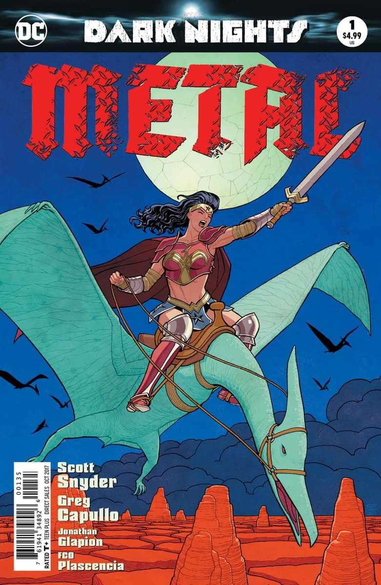 Separated At Birth: Cliff Chiang's #DCMetal Variant And Heavy Metal (The Movie)?