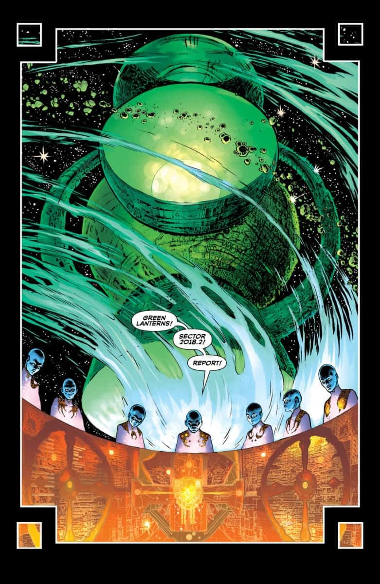 Re-Review: The Green Lantern #1 by Grant Morrison and Liam Sharp – From 2000AD to Preacher?