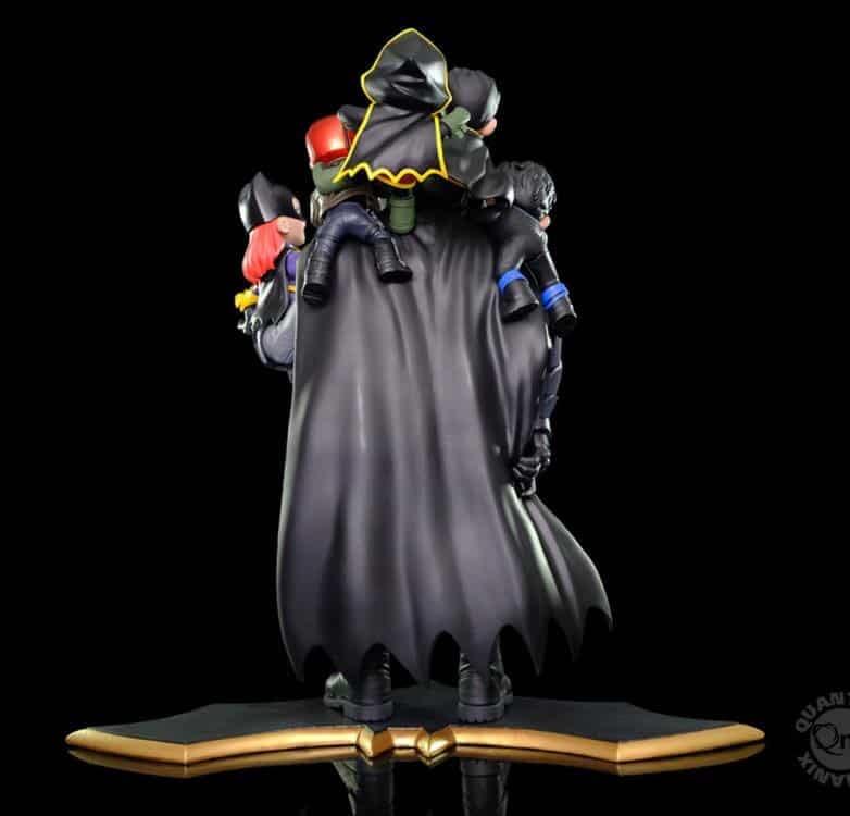 Check Out Quantum Mechanix Adorable New Bat-Family Q-Master Diorama