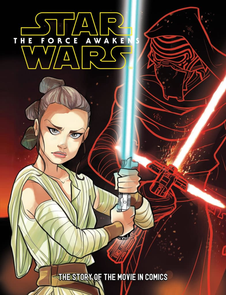 """See A (Sort-Of) EXCLUSIVE Preview Of IDW's """"New"""" Star Wars: The Force Awakens Young Reader Graphic Novel"""