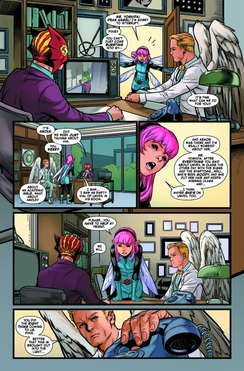 Pixie the Snitch - Age of X-Man: NextGen #4 Preview