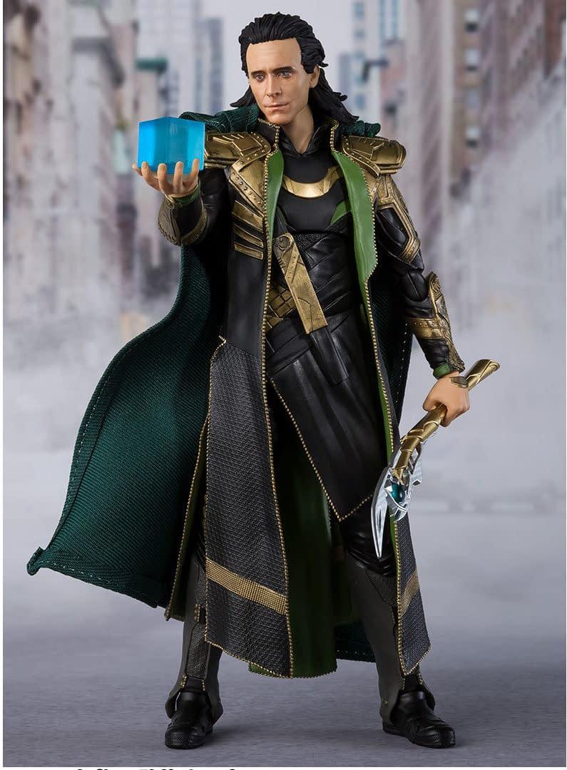 Avengers Loki S.H. Figuarts Figure