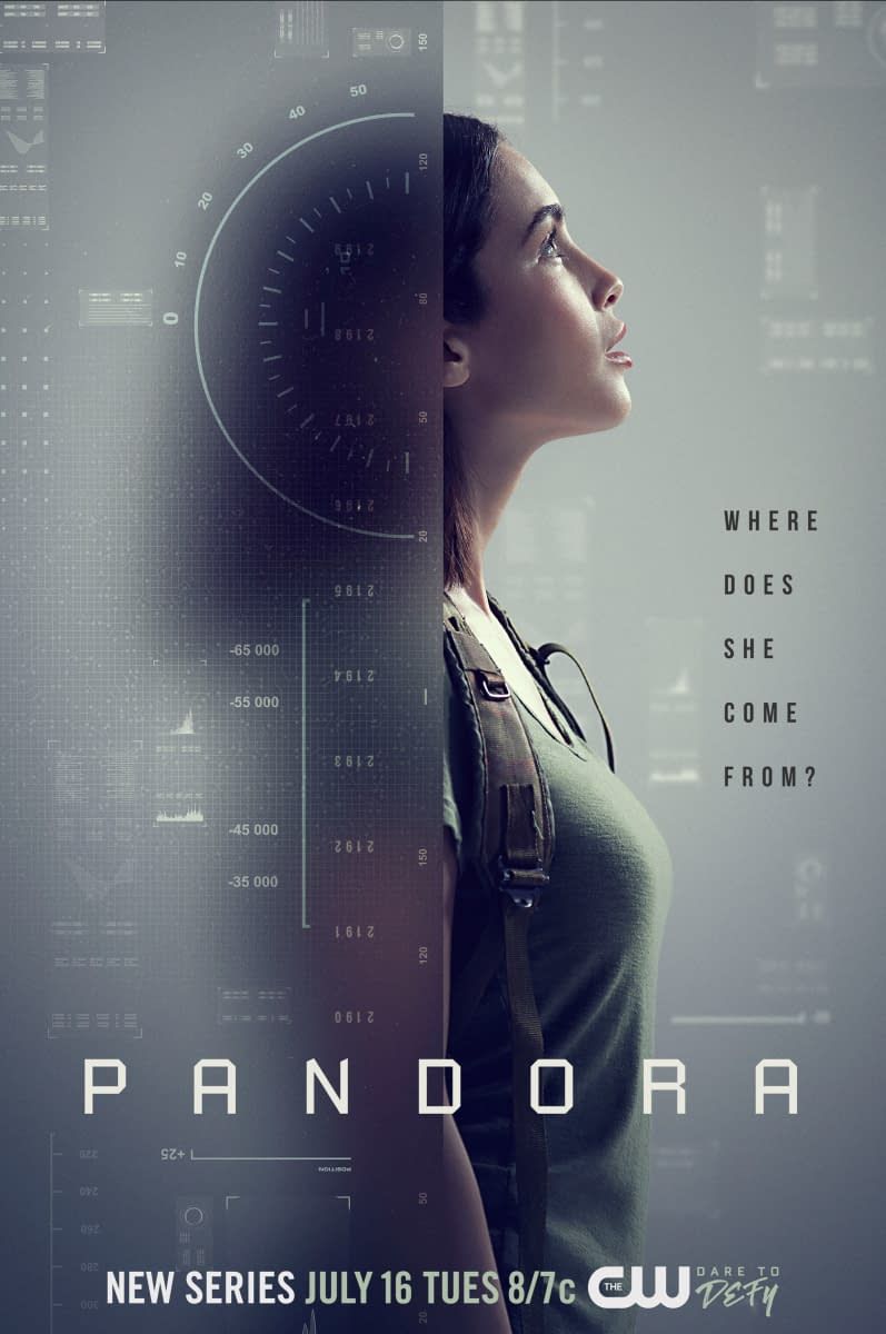 """Pandora"": The CW Summer Sci-Fi Series Releases Key Art; Premieres July 16th"