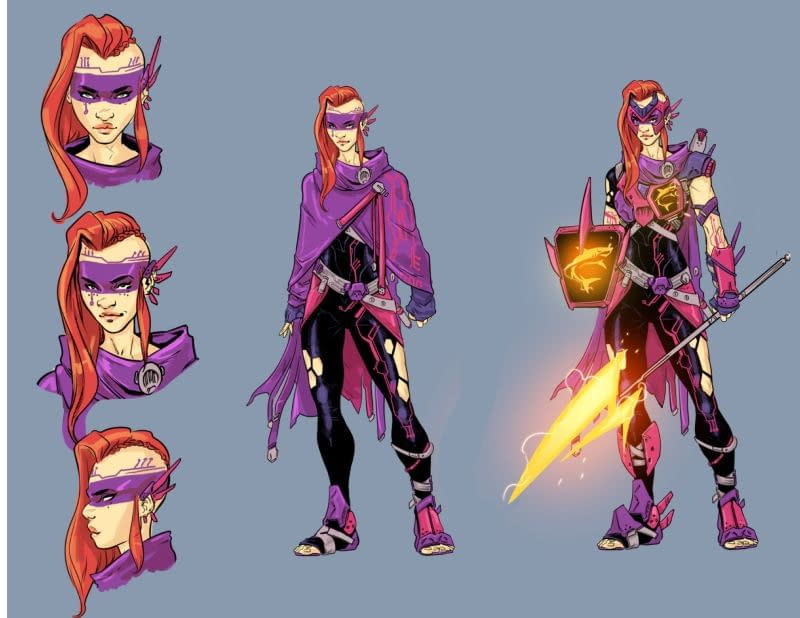 Magdalene Visaggio And Fico Ossio Pit Transformers Vs. Visionaries At IDW In December