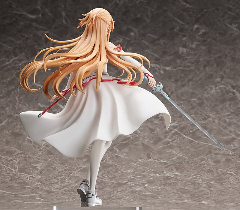 Sword Art Online Asuna Gets New Good Smile Statue from Alicization