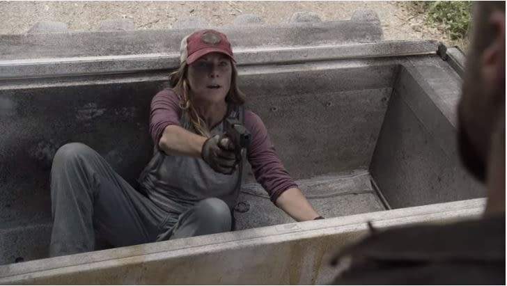 """""""Fear the Walking Dead"""" Season 5 """"Leave What You Don't"""": Logan Forces Our Heroes to Play Defense [PREVIEW]"""