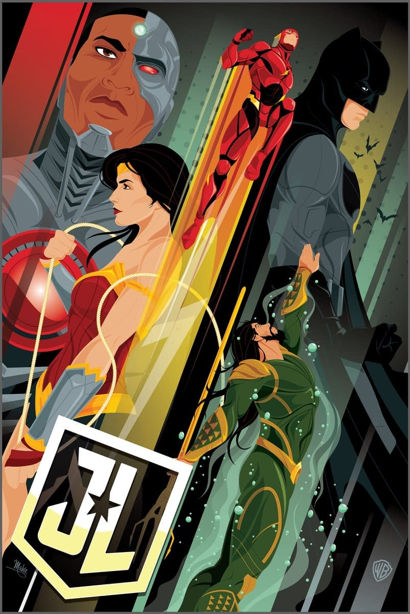 Justice League – New Magazine Covers, Times Square, And A Poster