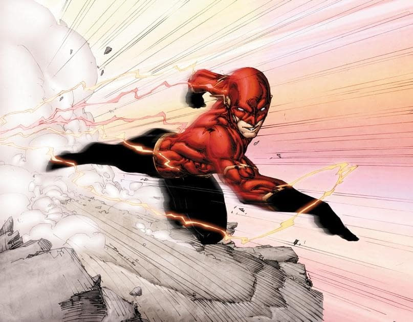 Brett Booth Redesigns Wally West For Fun